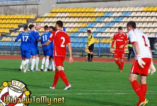 KS Kutno - Widzew Łódź 2:0 (1:0)