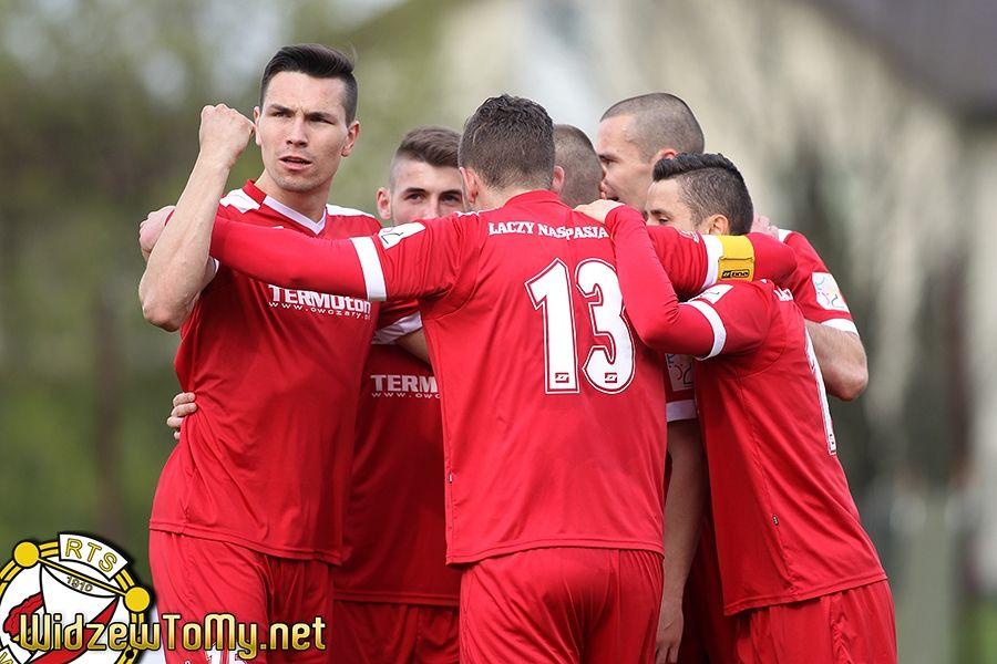 Polonia Piotrków - Widzew Łódź 0:4 (0:1)