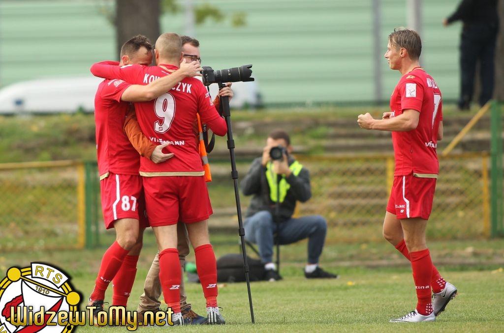 Huragan Wołomin - Widzew Łódź 0:4 (0:3)