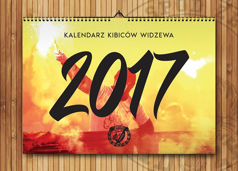 Kalendarze Kibiców Widzewa 2017!