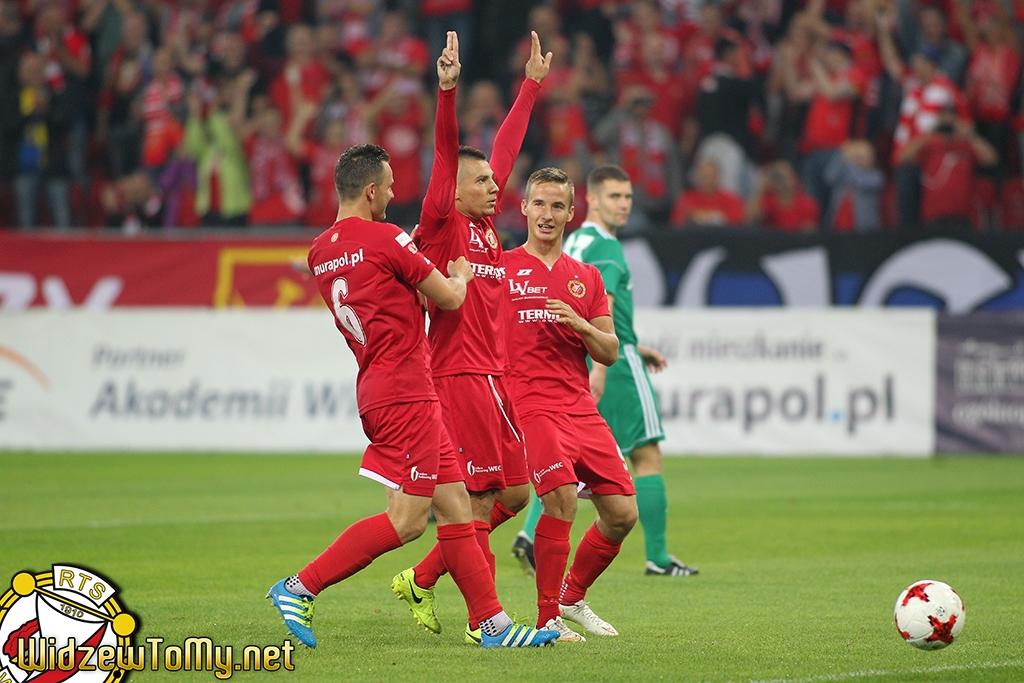 Widzew Łódź - Warta Sieradz 3:0 (1:0)