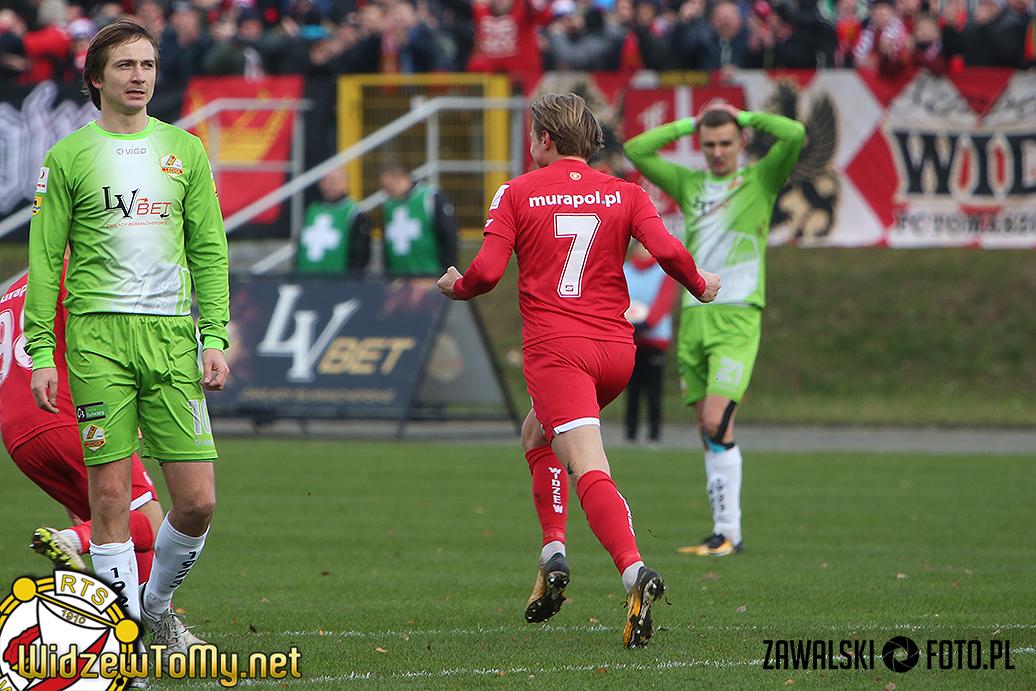 Lechia Tomaszów Mazowiecki - Widzew Łódź 1:2 (1:1)