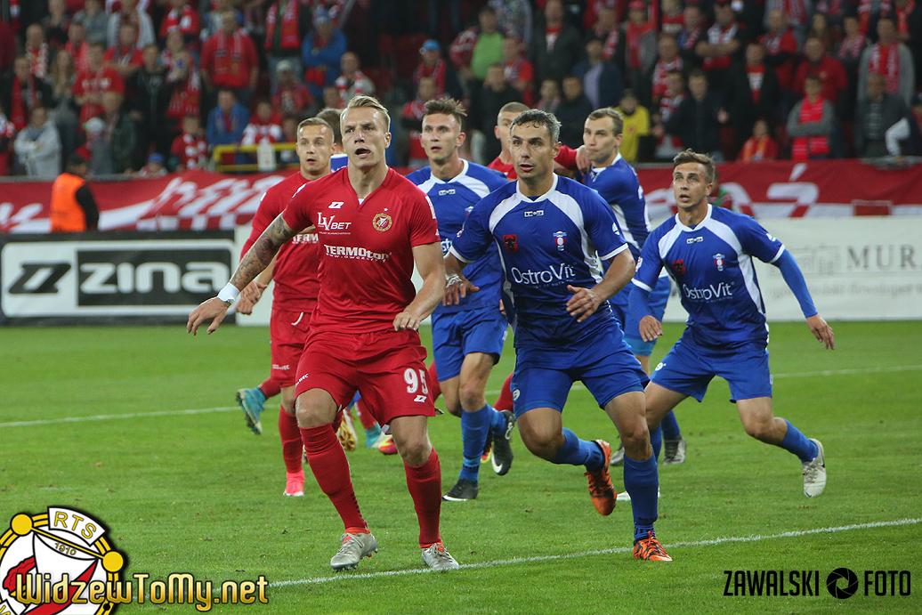 Olimpia Zambrów - Widzew Łódź 0:1 (0:1)
