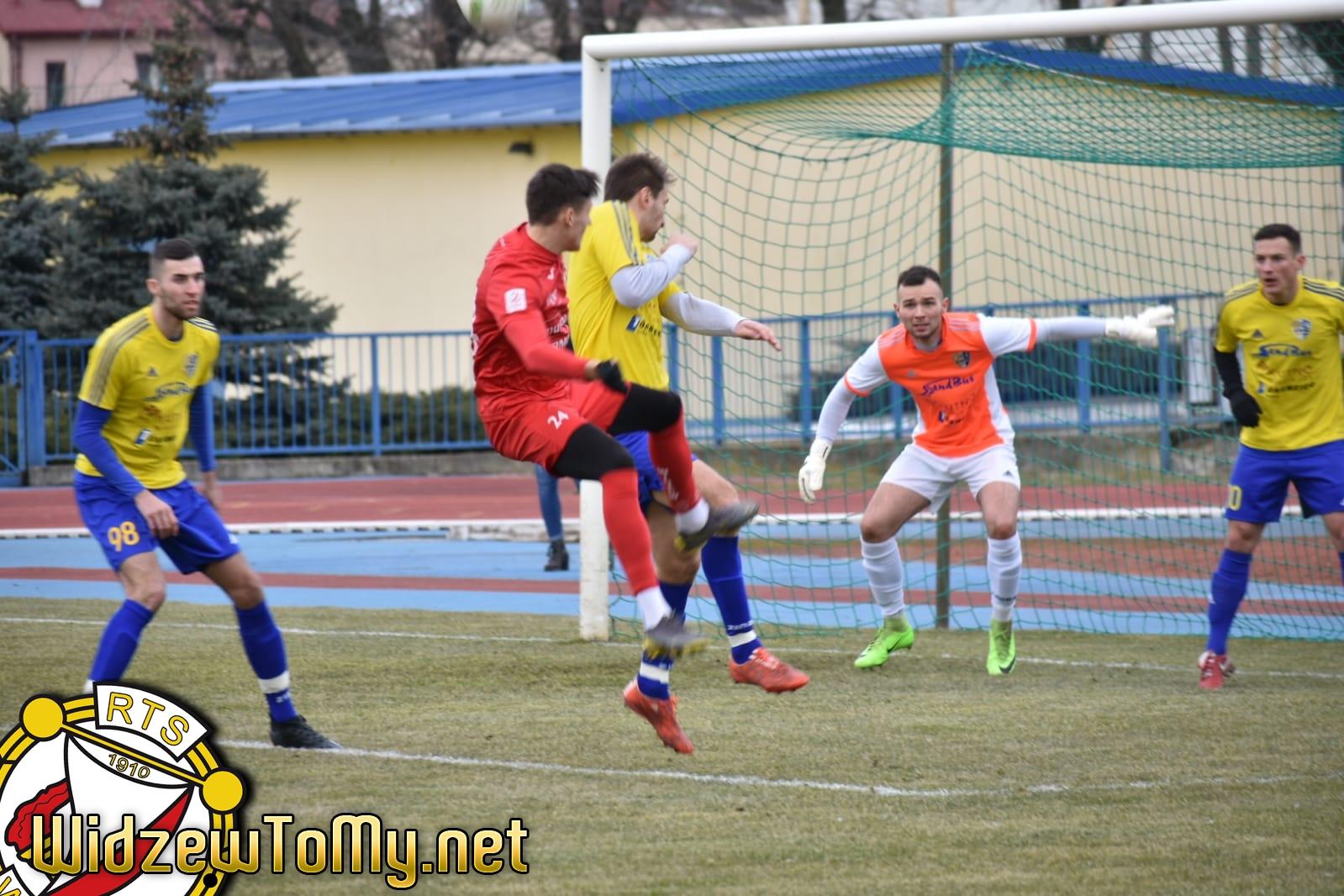 KS Kutno - Widzew Łódź 0:4 (0:3)