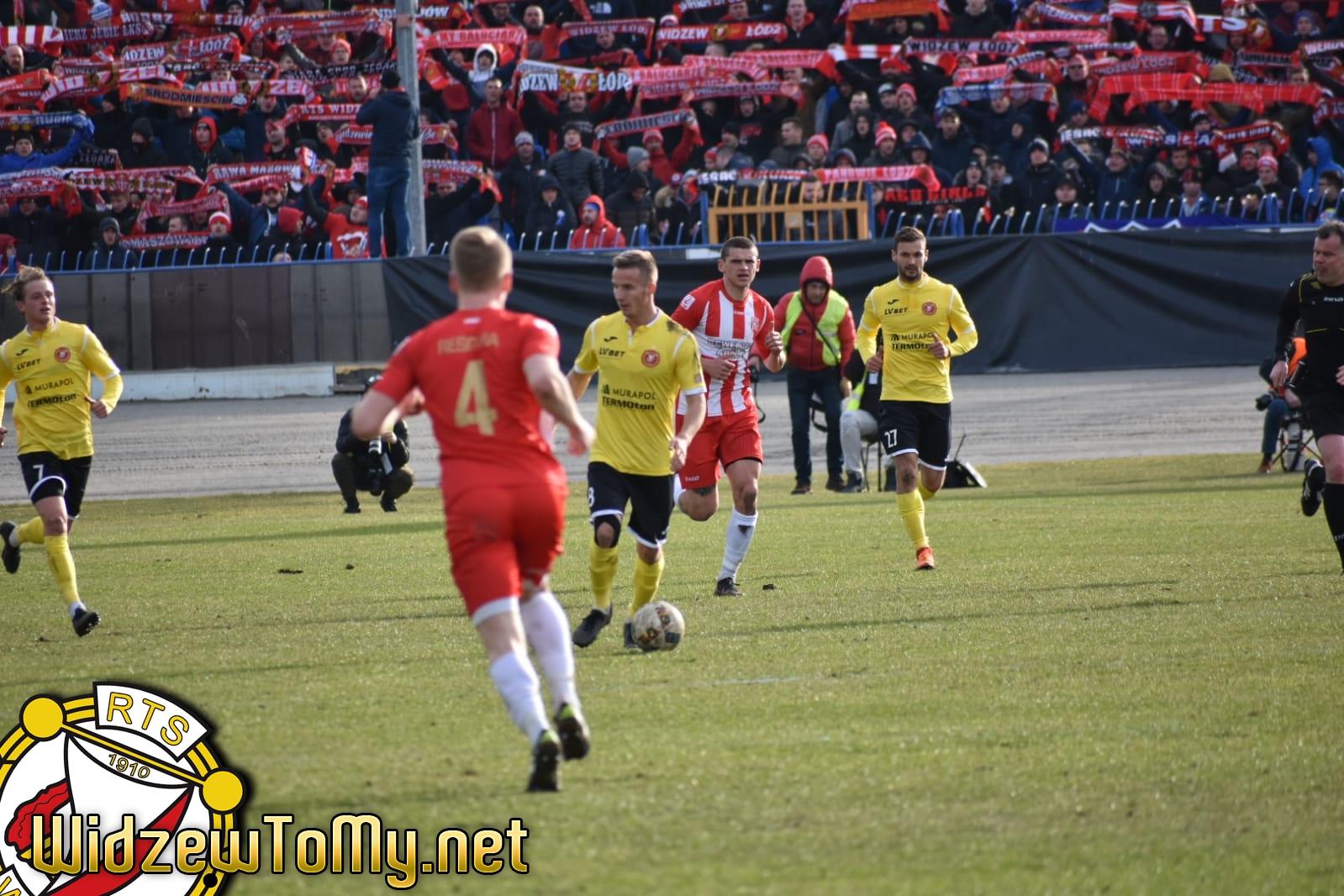 Resovia - Widzew Łódź 1:1 (1:0)