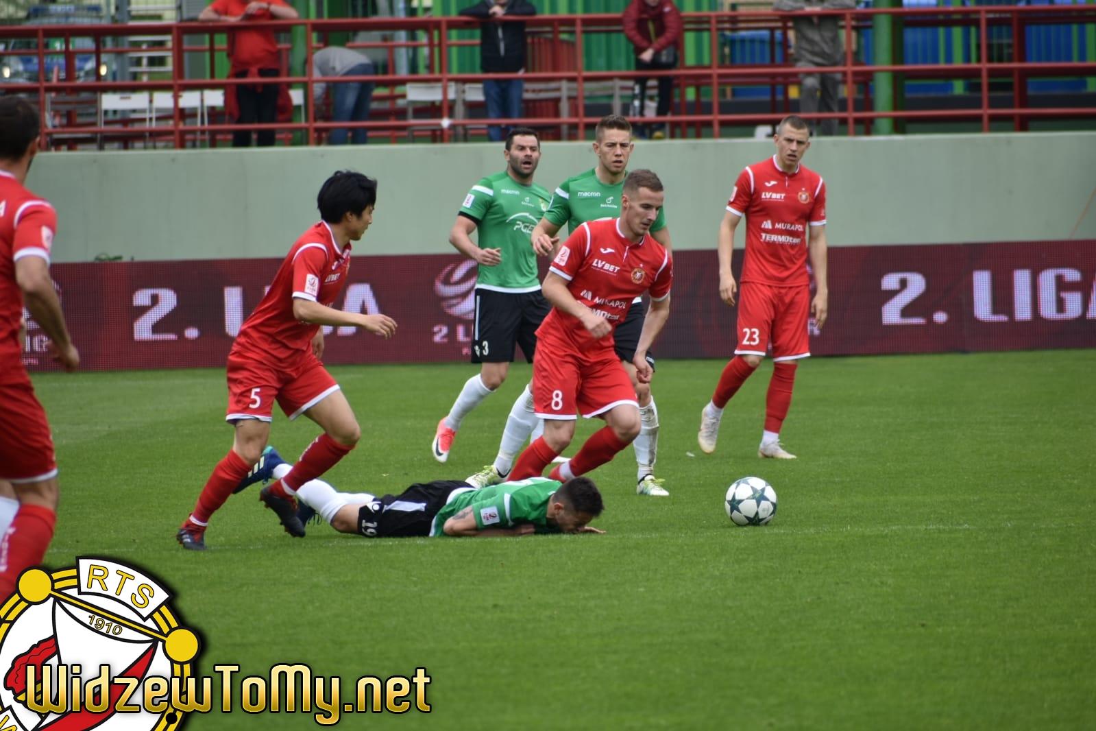 GKS Bełchatów - Widzew Łódź 3:1 (1:1)