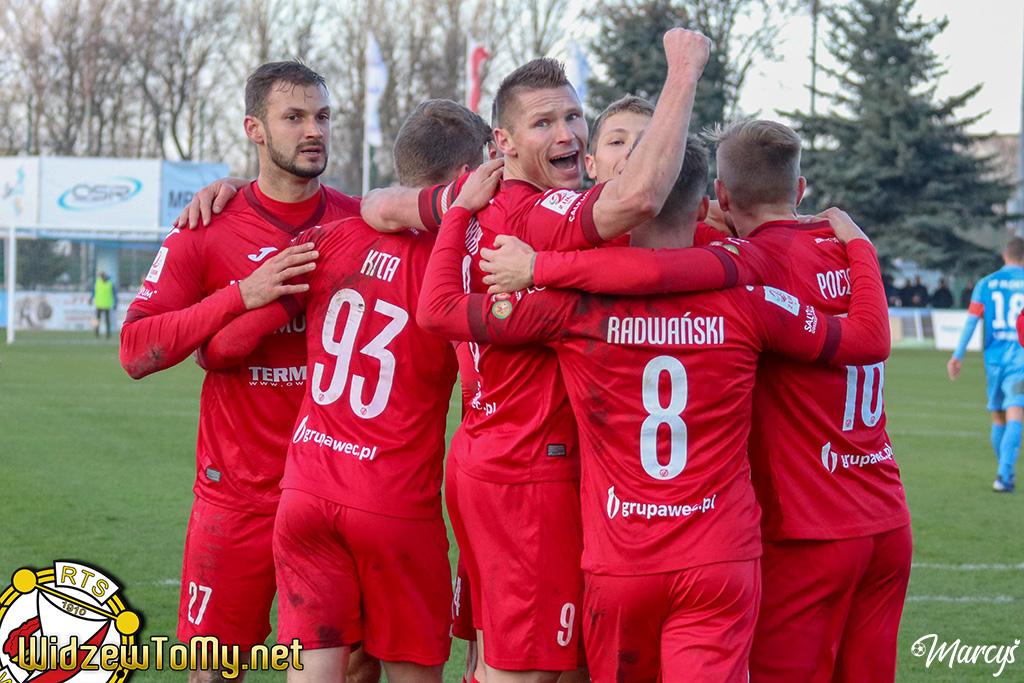 Błękitni Stargard - Widzew Łódź 1:3 (0:2)