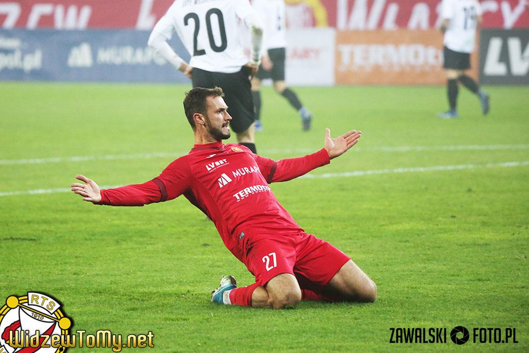 Widzew Łódź - Gryf Wejherowo 4:0 (1:0)
