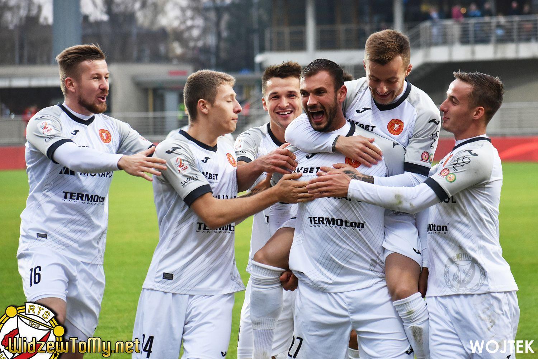 Znicz Pruszków - Widzew Łódź 0:6 (0:1)