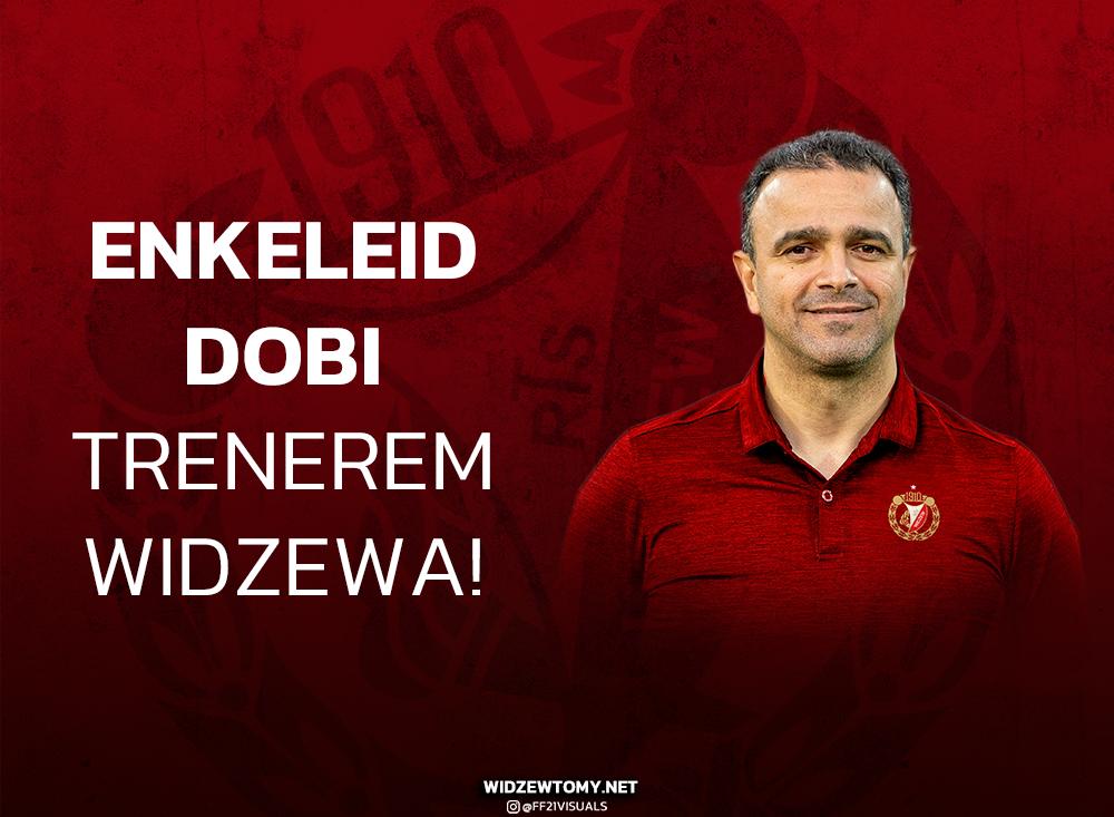 Enkeleid Dobi nowym trenerem Widzewa!