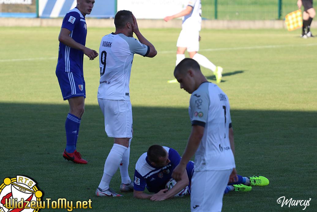 Pogoń Siedlce - Widzew Łódź 3:1 (0:1)