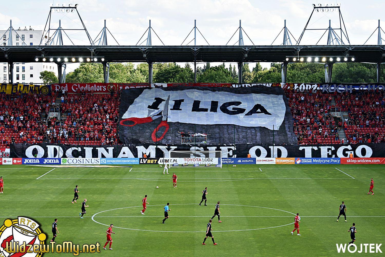 Pomimo porażki, Widzew Łódź awansował do I ligi!