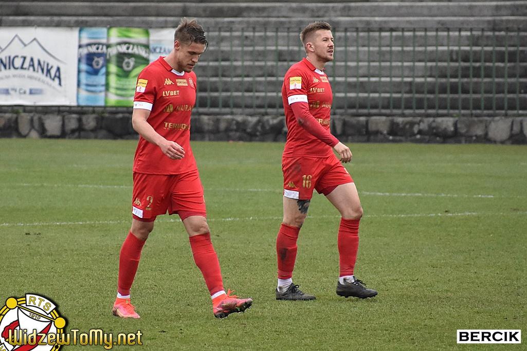 Sandecja Nowy Sącz - Widzew Łódź 3:1 (2:0)