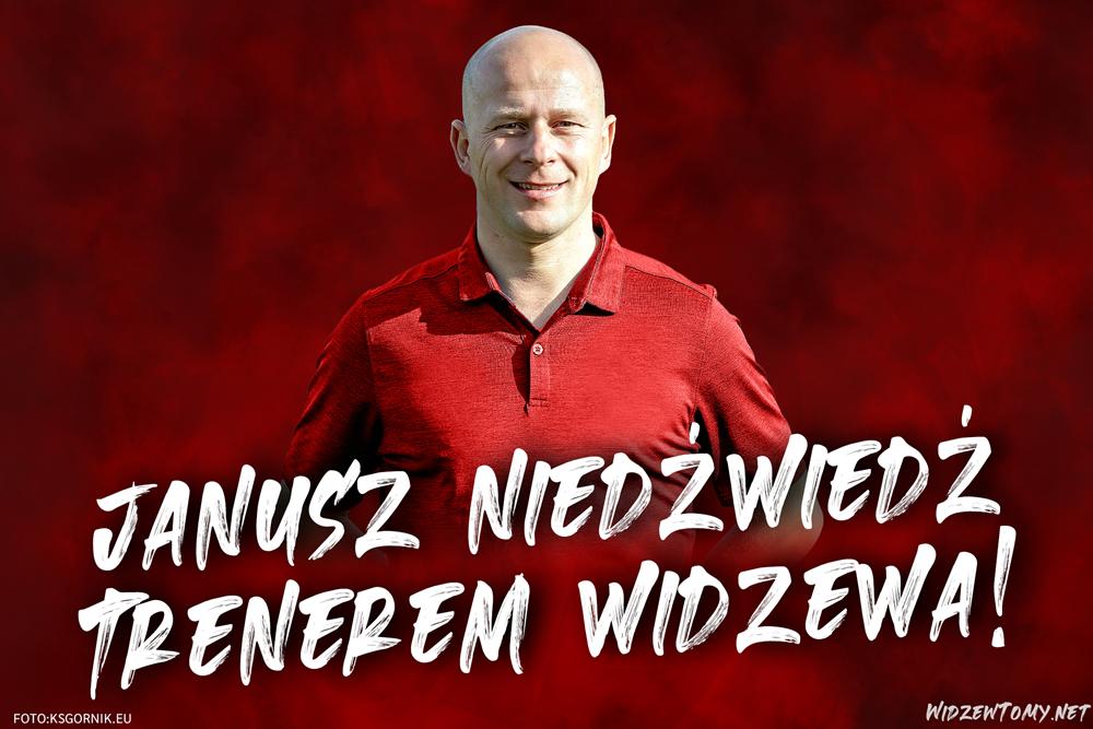 Janusz Niedźwiedź nowym trenerem Widzewa!