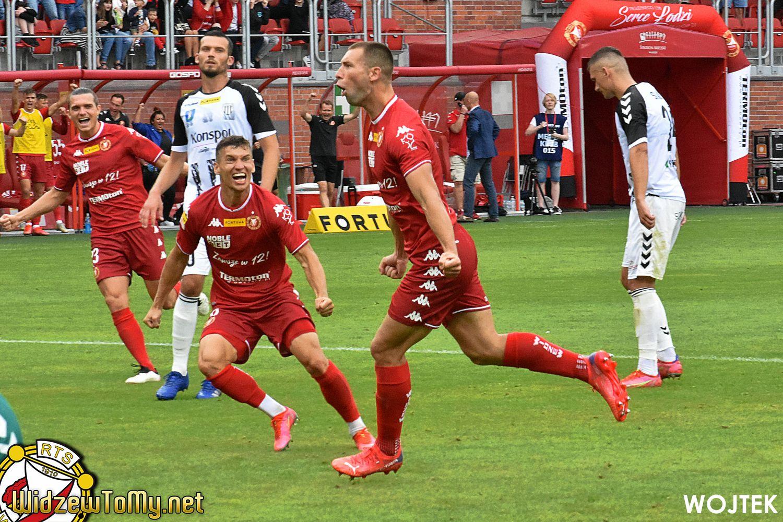 Widzew Łódź - Sandecja Nowy Sącz 3:0 (2:0)